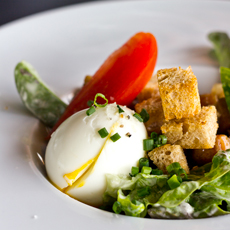 photo culinaire plat salade